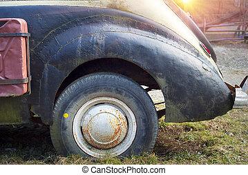 自動車, 古代,  carpathians
