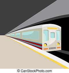 自動車, 地下鉄