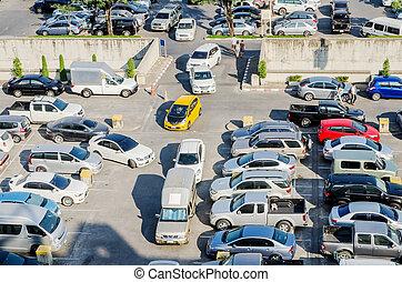 自動車, 屋外, 駐車