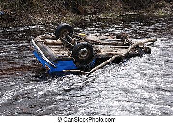 自動車, 川