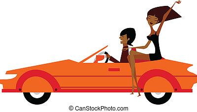 自動車, 恋人