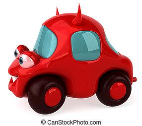 自動車, 悪