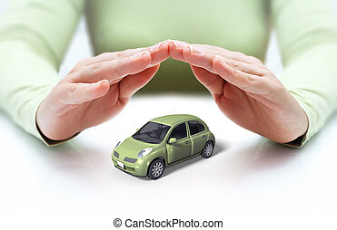 自動車, 手, 安全, あなたの, -, カバー