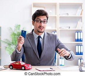 自動車, 提供, エージェント, 保険, モーター