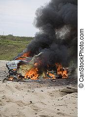 自動車, 残物, 爆弾