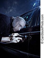 自動車, 泥棒
