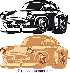 自動車, 漫画