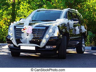 自動車, 結婚式