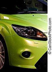 自動車, 緑, スポーツ