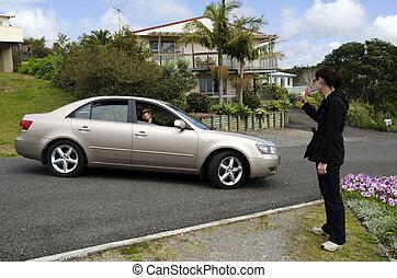 自動車, 老人, 運転