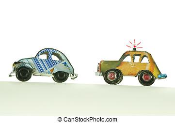 自動車, 追跡