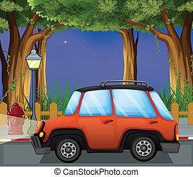自動車, 通り