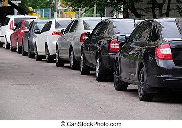 自動車, 駐車