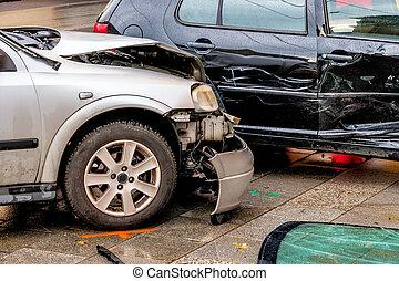 自動車,  bodywork, 損害