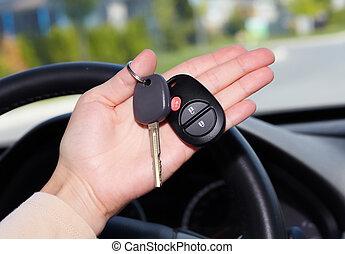 自動車, key.