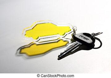 自動車, keychain
