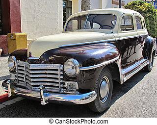 自動車, u.。s.。, 典型的, 古い, 型