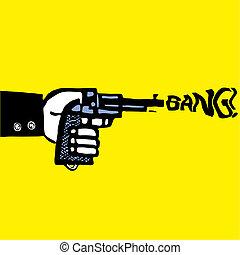 自殺, 人, 由于, 手槍