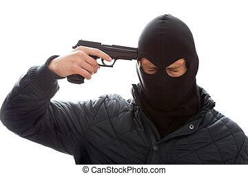自殺, gangster's