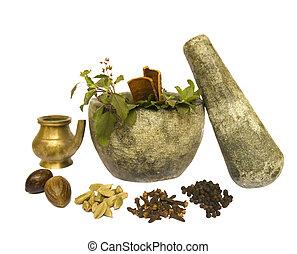 自然の健康, ayurveda