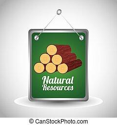 自然, デザイン, 資源