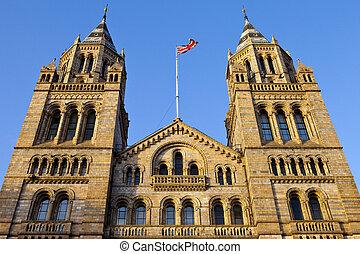 自然, 博物館, ロンドン, 歴史