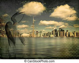 自然, 大きい都市