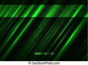 自然, 明るい, 緑の背景, ライト