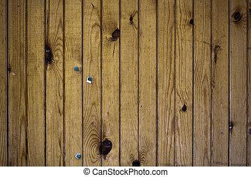 自然, 木制的門