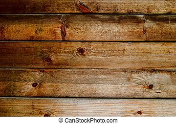 自然, 木製板
