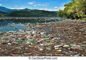 自然, 污染