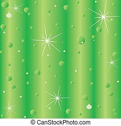 自然, 緑の背景
