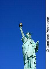 自由の女神, クローズアップ