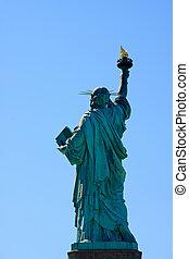 自由女神像, 往回, 边