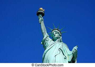 自由女神像, 特写镜头