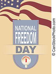 自由, 国民, 旗, 日
