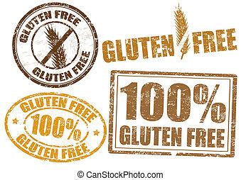自由, gluten