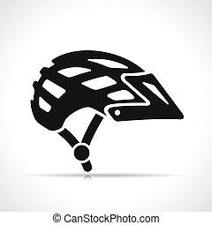 自行车, 矢量, 图标, 钢盔, 符号