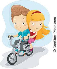 自転車ドライブ