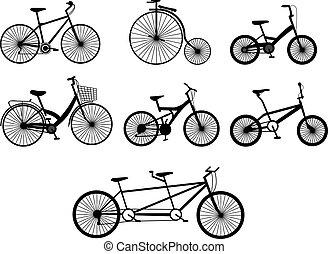 自転車, イラスト