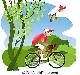 自転車, ツアー