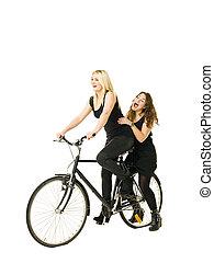自転車, 女性