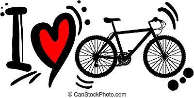 自転車, 愛