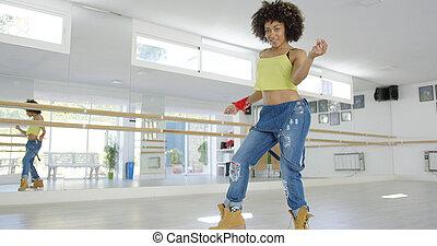 舞蹈演員, 美國人, african, 美麗