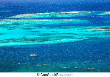 航空写真, カリブ海, 光景