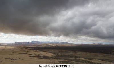 航空写真, 砂漠, 光景