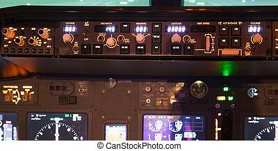 航空機, ダッシュボード