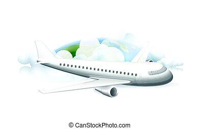 航空機, ベクトル