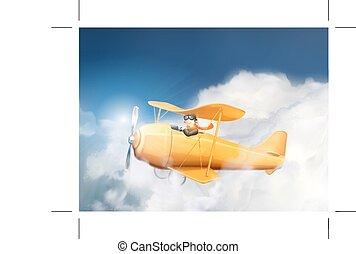 航空機, 雲