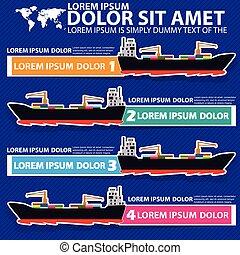 船の色, ステッカー, 海洋